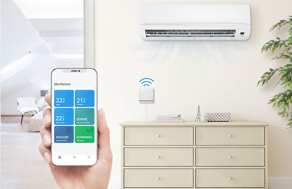 Une climatisation intelligente adaptée à votre confort